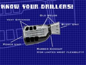 Driller Beam Generator