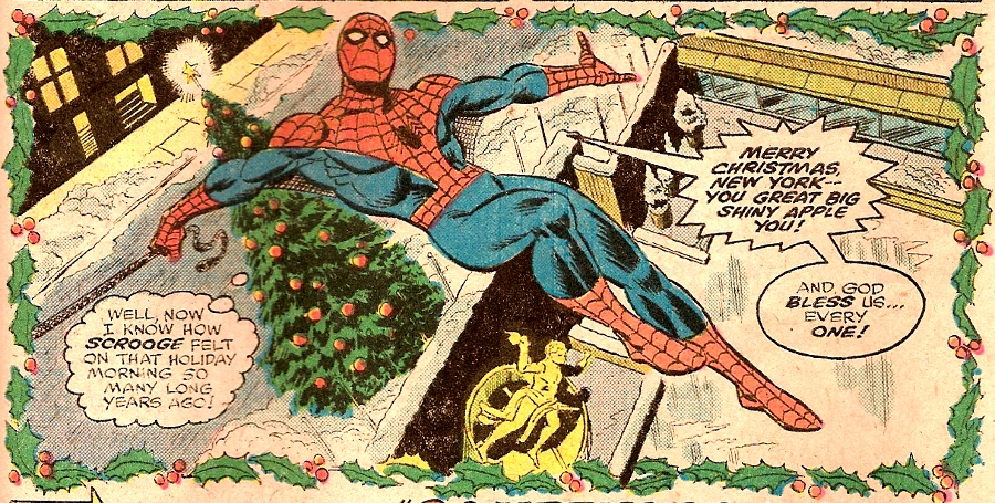 http://www.herogohome.com/wp-content/uploads/2011/12/AmazingSpiderMan166MerryChristmas.jpg