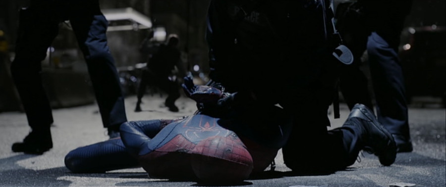 amazingspidermanarrested