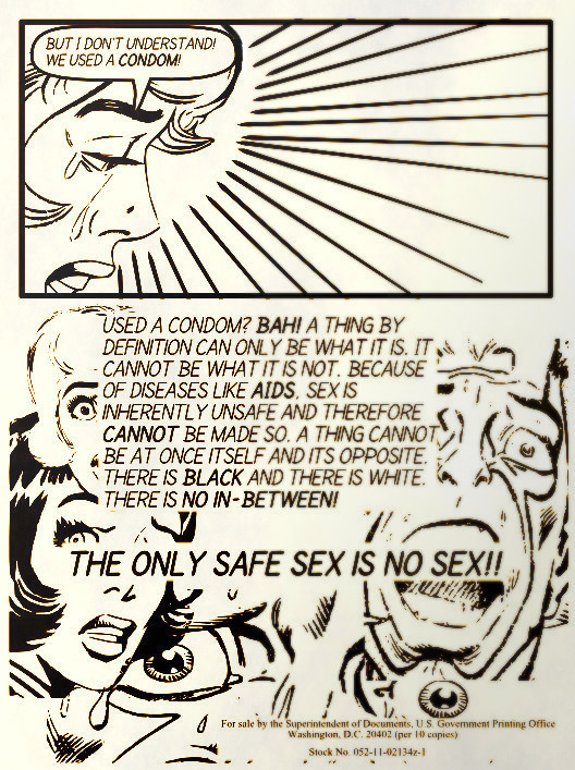 Not actually a real pamphlet by Steve Ditko
